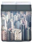 Hong Kong Suburbs Duvet Cover