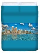 Honolulu Hi 2 Duvet Cover