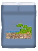 Honolulu Hi 7 Duvet Cover