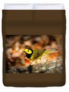 Hooded Warbler - Img 9352-003 Duvet Cover