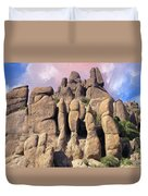 Hoodoo In The Superstition Mountains Duvet Cover