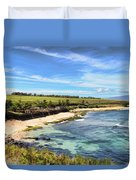 Ho'okipa Beach Park - Maui Duvet Cover