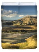Hoopers Inlet And Cape Saunders New Duvet Cover