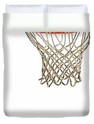 Hoops Anyone Duvet Cover by Karol Livote