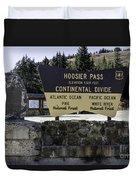 Hoosier Pass Duvet Cover