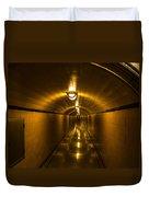 Hoover Dam Art Deco Tunnel Duvet Cover