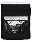 Hoover Dam Memorial Bridge Duvet Cover