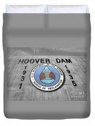 Hoover Logo  Duvet Cover