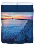 Hope On The Horizon Duvet Cover