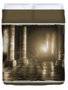 Hope Shinning Through Duvet Cover by Mike McGlothlen