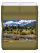 Hope Valley Wildlife Area Duvet Cover