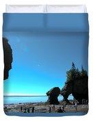 Hopewell Rocks Duvet Cover