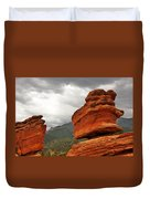Hoping For Rain - Garden Of The Gods Colorado Duvet Cover