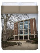 Hopkins Hall And Tree Osu  Duvet Cover