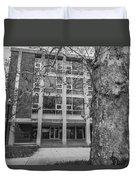 Hopkins Hall Black And White Duvet Cover
