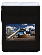 Horace Dodge Fountain Hart Plaza Detroit Michigan  Duvet Cover