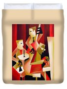 Horace Parlan Trio - Christiania - Copenhagen Duvet Cover