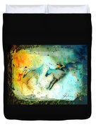 Horse Racing 02 Madness Duvet Cover