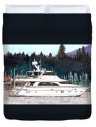 Vancouver Rowing Club Duvet Cover