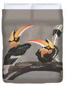 Hornbills Duvet Cover