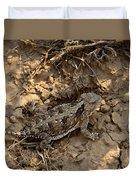 Horned Lizard   #8903 Duvet Cover