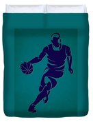 Hornets Basketball Player3 Duvet Cover