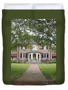 Hornsby House Inn Yorktown Duvet Cover by Teresa Mucha