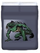 Horrid Creature Duvet Cover