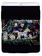 Horse And Carriage  Duvet Cover