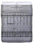 Horse Breaker Patent Duvet Cover