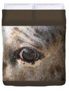 Horse Close Up Duvet Cover