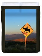 Horse Crossing Duvet Cover