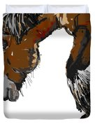 horse - Guus Duvet Cover