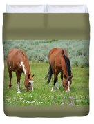 Horse Heaven Duvet Cover
