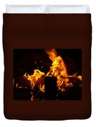 Horse In The Fire Duvet Cover