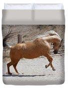 Horse Jumping Duvet Cover