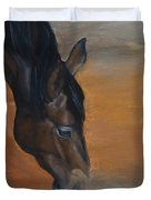 horse - Lily Duvet Cover