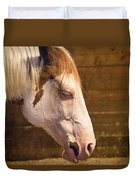 Horse Nap Duvet Cover