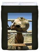 Horse Nose Duvet Cover