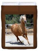 Horse On The Run Duvet Cover