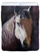 Horse Painting Duvet Cover