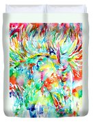 Horse Painting.29 Duvet Cover