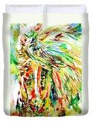 Horse Painting.31 Duvet Cover