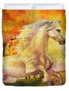 Horse Paintings 003 Duvet Cover