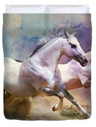 Horse Paintings 004 Duvet Cover
