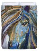 Horse Portrait 102 Duvet Cover