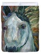 Horse Portrait 103 Duvet Cover