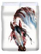 Horse Portrait Duvet Cover