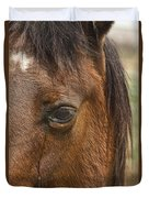 Horse Tear Duvet Cover