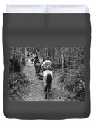 Horse Trail Duvet Cover